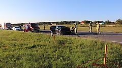 Unfall auf der B56 - Strem